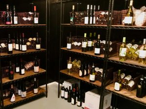 Sloan and Parker Wine Cellar